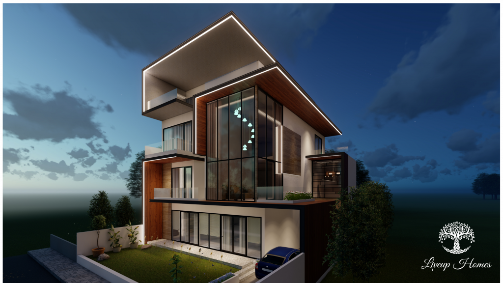 Luxury construction - elevation - Liveup homes