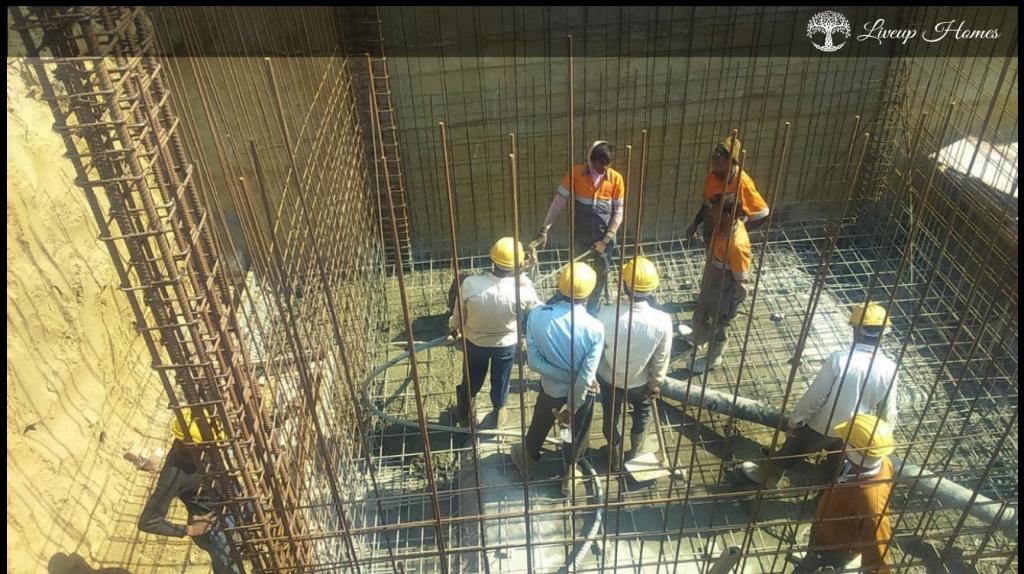 construction site- civil structure - liveup homes